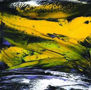 Malaysia Richard Wong 黄振景 , Canyon Wonders , Canadian Rockies , Oil on Canvas , 76 X 76 cm, 2018