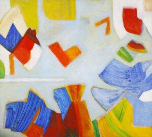 Painting by Sharifah Fatimah Zubir, Malaysia. Acrylic. Like A Piece of Sunshine. Nov 1980