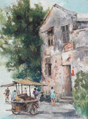 Chooi Yew Seng. 崔耀成. b1938 - d.1998. 小贩. 1993.