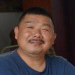 Simaon Tan Malaysian artist portrait