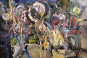 Thongchai Rakpathum. Phenomenon at Night, 2012, 180 x 271 cm. oil on canvas