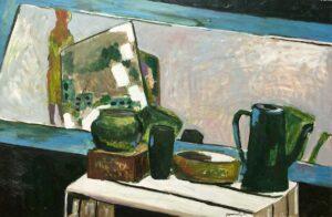 Stroynova Liubov, Artist Russia, Morning 清晨, 2012, oil on canvas, 60 x 90 cm
